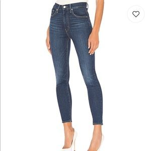 Levi's Mike High Ankle Skinny in Unbasic Blue